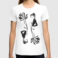 victorian T-shirts featuring victorian  by Nancy Blau