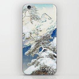 The Snows at Kenn iPhone Skin