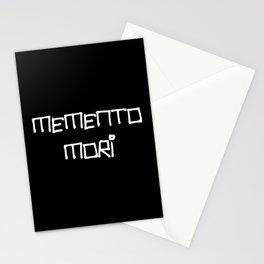 motto in latin -memento mori 1 Stationery Cards