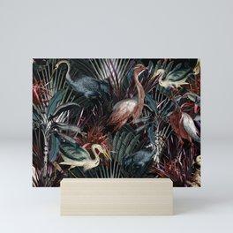 Floral and Birds XXXVIII Mini Art Print