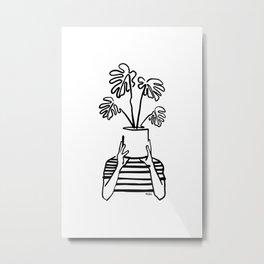 Mood plants Metal Print