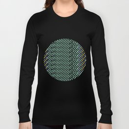 Green Drops of Time Long Sleeve T-shirt