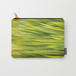 Green Nature Abstract Carry-All Pouch