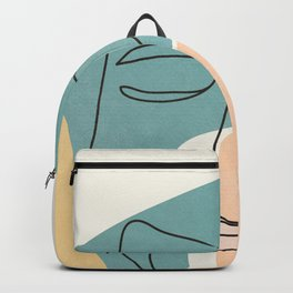 Abstract Face 25 Backpack