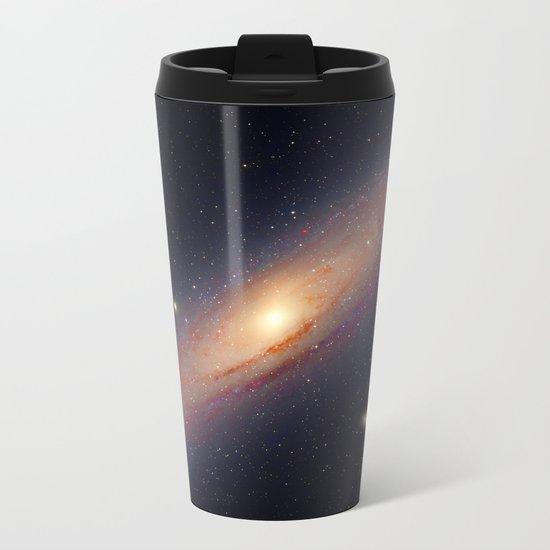 Spiral galaxy Metal Travel Mug