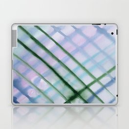 Intersection of greens || watercolor Laptop & iPad Skin