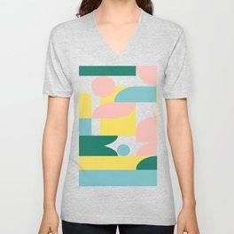 Shapes and Color 31 Unisex V-Neck
