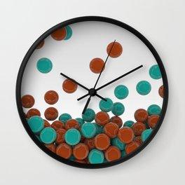 Bubble Gum Drop Wall Clock