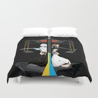 tron Duvet Covers featuring Tron by Sara E. Snodgrass