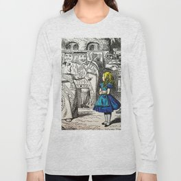 Blonde Girl Called Alice Long Sleeve T-shirt