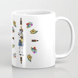 Keith Richars-  rock and roll life Coffee Mug