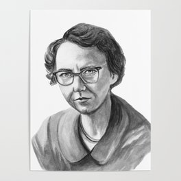 Flannery O'Connor Poster