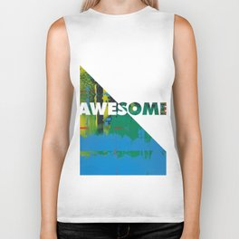 Color Chrome - Awesome graphic Biker Tank