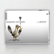 Whaddafuq You Want? Laptop & iPad Skin