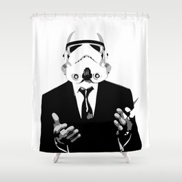 GQ Trooper Shower Curtain