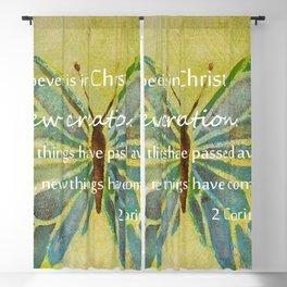 2 Corinthians 5:17 Blackout Curtain