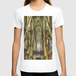 York Minster Van Gogh Style T-shirt