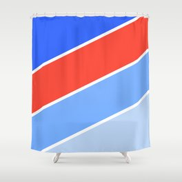 Bright #2 Shower Curtain