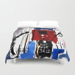 Jean-Michel Basquiat - Obnoxious Liberals , 1982 Duvet Cover