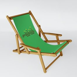 Music notes garden Sling Chair