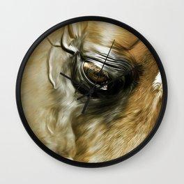 Arabian Stallion 1b Wall Clock