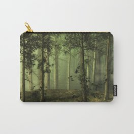 Fantasy Fog Forest Carry-All Pouch