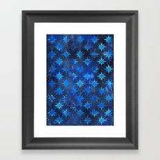 Tribal America {STARS} Framed Art Print