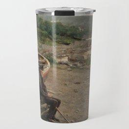 Hans Heyerdahl - View from Åsgårdstrand Travel Mug