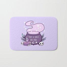 Witch Cauldron // Purple Bath Mat