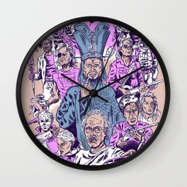 Carpenter's Creations Wall Clock