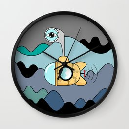 submarine Wall Clock