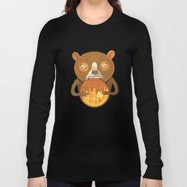 Waffle Bear Long Sleeve T-shirt