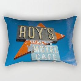 Roy's Motel & Cafe Rectangular Pillow