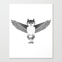 Owls Well That Ends Well Canvas Print
