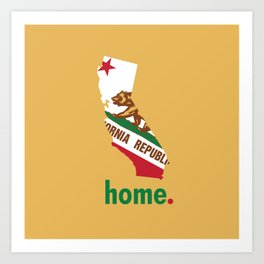 California Proud Art Print