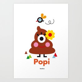 Popi Art Print