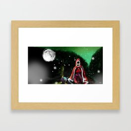 Red Riding Hood 4 Framed Art Print