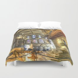 Rochester Cathedral Art Duvet Cover