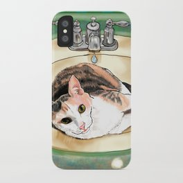 Catrina in the Sink iPhone Case