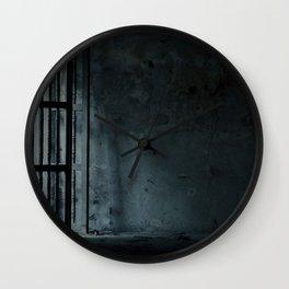 Eerie Asylum (Color) Wall Clock