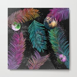 Island Galaxy Metal Print
