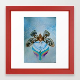 Rising Framed Art Print