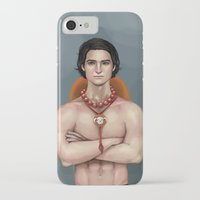 ace attorney iPhone & iPod Cases featuring Ace by Fatma