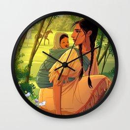 Sacagawea Wall Clock