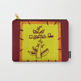 tree with a computer , telephone and other device Carry-All Pouch