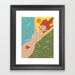 Faerie Dreams Framed Art Print