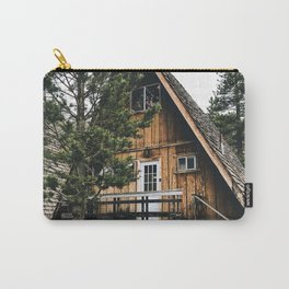 wild cabin in the northwest Carry-All Pouch