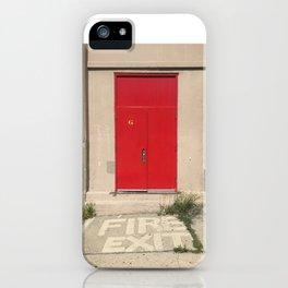 Fire Exit iPhone Case