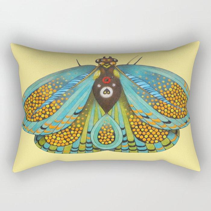 butterfly (ORIGINAL SOLD). Rectangular Pillow