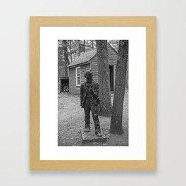 Henry David Thoreau House Walden Pond Concord MA Framed Art Print